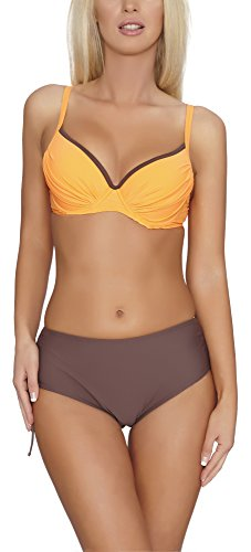 Verano Bikini Push Up para Mujer Anita Naranja/Marrón