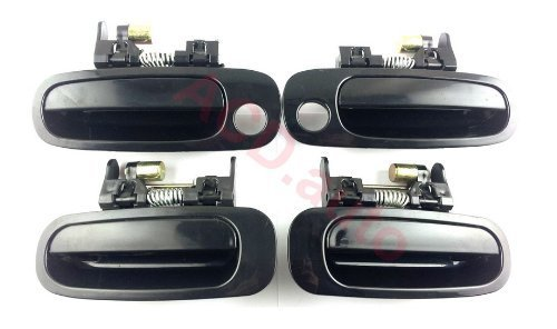 1998-2002 toyota corolla Outside Outer Door Handle Front Rear Left Right 4PCS (2002 Toyota Corolla Right Door)