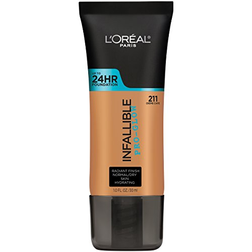 L'Oréal Paris Infallible Pro-Glow Foundation, Creme Cafe, 1 fl. ()