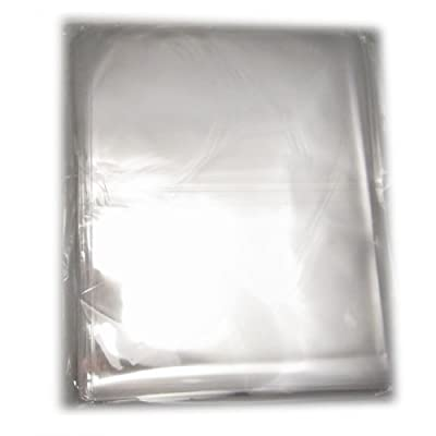 DIYJewelryDepot Clear Flat Cello Treat Bag 11x14 Inch, Pack of 100