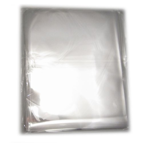 100x Clear Flat Cello/cellophane Treat Bag 11x14 Inch(1.2mil) Gift Basket Supplies (See Through Gift Bags)
