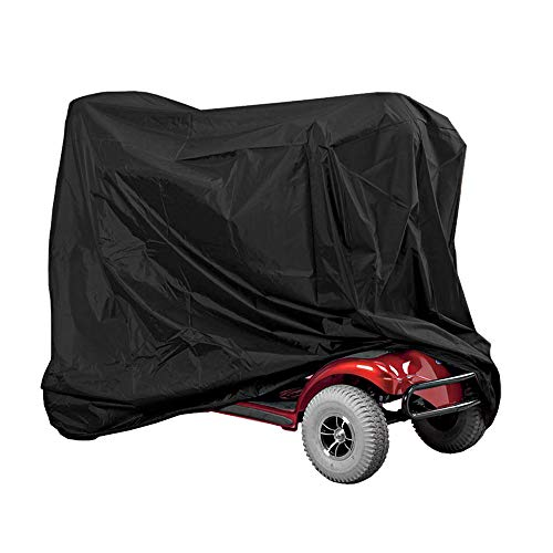 Mobility Scooter Cover, Waterproof Scooter Storage Cover for for Scooter Powerchair and Electric Powered Transport 55.1 x 25.9 x ()