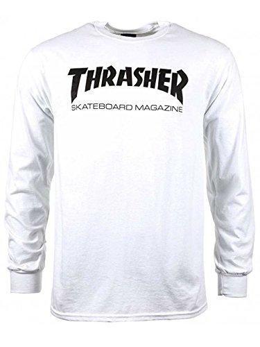 Thrasher Skate Mag Long Sleeve T-Shirt X Large (Skate Fit T-shirt)