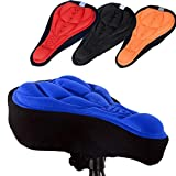#9: Bifast Bicycle Saddle Seat Cover 3D Sponge Bicycle Seat Cover Bike Seat Cushion Cover Cushion Pad Protector with Memory Foam Non Slip for Mountain Bike Road Bike MTB Cycling