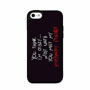 Imaginary Friend 2-Piece Dual Layer Phone Case Back Cover iPhone 5 5s