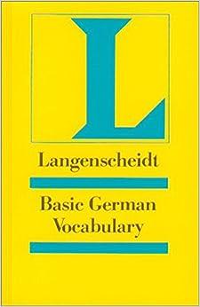 Basic German Vocabulary (Langenscheidt Reference)