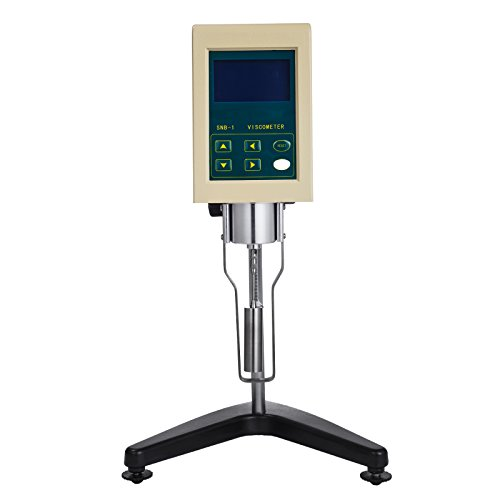 VEVOR Digital Viscometer SNB-1 Rotary Viscometer 10-100000mPa.s Viscosity Tester Viscosity Measuring Device 110V