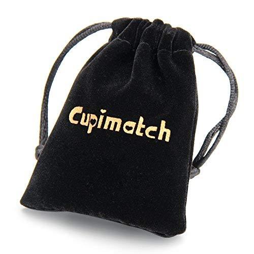 Cupimatch Pendentif Collier Gant de Boxe,Punk Rock Bijoux Collier Poli Homme en Acier Inoxydable pour Amateurs de Boxe et Homme ou Femme Argent Cha/îne de 55cm