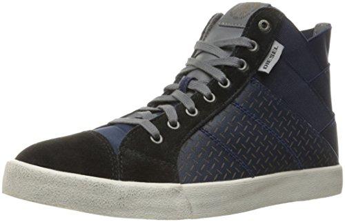 Diesel Mens D-velows S-tunnyngs Fashion Sneaker Blu Iris / Nero
