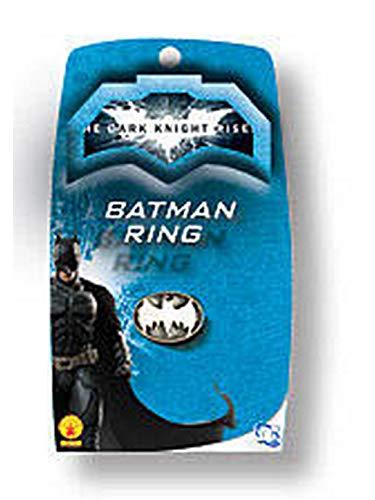 Batman: The Dark Knight Rises: Batman Ring (White)]()