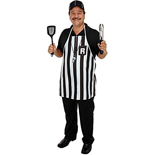 Referee Fabric Novelty Apron (polyester) Party Accessory Pkg/12