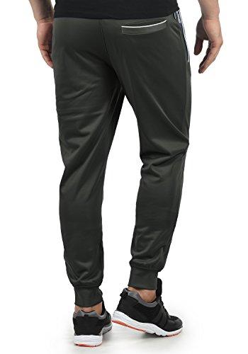 Dark Survêtement Jogging Grey Leandri Pantalon solid 2890 Polaire Sport De Homme Doublure zqwI4vt4