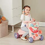 BABY JOY Sit to Stand Walker, 3 in 1 Baby