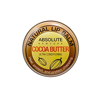 (3 Pack) Absolute Natural Lip Balm - Cocoa Butter Golden Serum 15ml