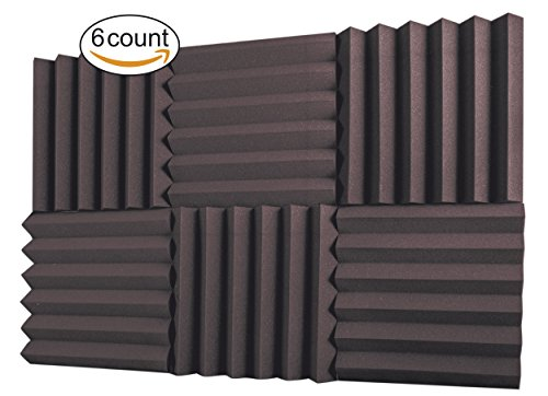 a2s-protection-6-pack-acoustic-foam-panels-2-x-12-x-12-soundproofing-studio-foam-wedge-tiles-firepro