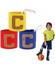 ASTARC Fascia da Capitano Junior,Calcio Fascia da Capitano per Bambini,Elastica Calcio Fascia da Capitano,Velcro e Design anticaduta per Bambini,Adatta per molteplici Sport tra Cui Calcio e Rugby