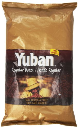 Yuban Whole Bean Coffee, 4 lb. pack, Pack of 6 by Yuban