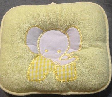 Cheap Pillows for Babies: Cute Yellow Pillow for Toddler Boy or Girl