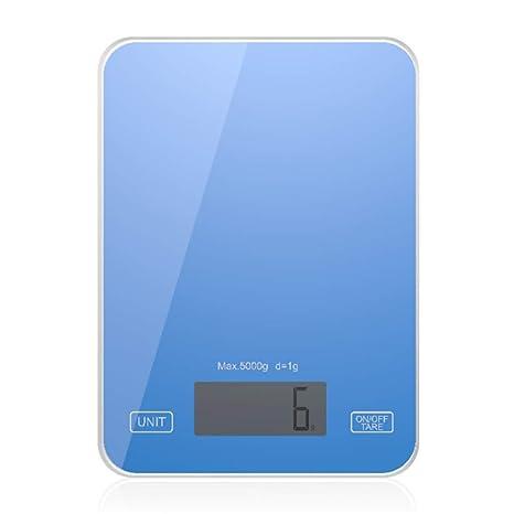 Báscula de Cocina Digital 5 kg 1g Escala precisa de Cocina y ...