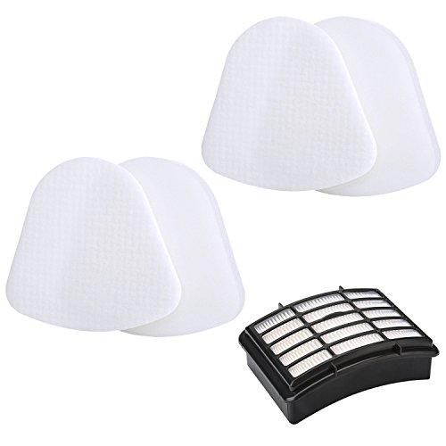 Filter Kit for Shark Navigator Lift-Away NV350 NV351 NV352 NV356 NV357 NV370 UV440, Replacement Part # Xff350 & # Xhf350, 2 Foam & Felt filter Kits with 1 Hepa Filter by isinlive
