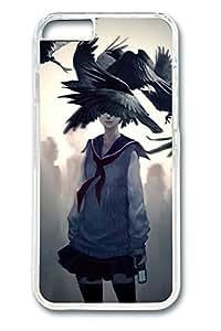 Bright Paint Splash Custom For Iphone 6 Plus 5.5 Inch Cover Case Cover Polycarbonate Black