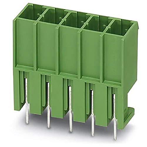 (Terminal block; PCB; Header; Male Pins; Shrouded (4 Side); 6 position; 20A; 630V; Solder, Pack of 5)