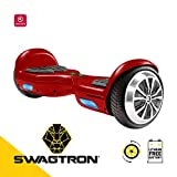 Swagboard Twist T881 Lithium-Free Kids Hoverboard - Easy Balance Wheels, Red