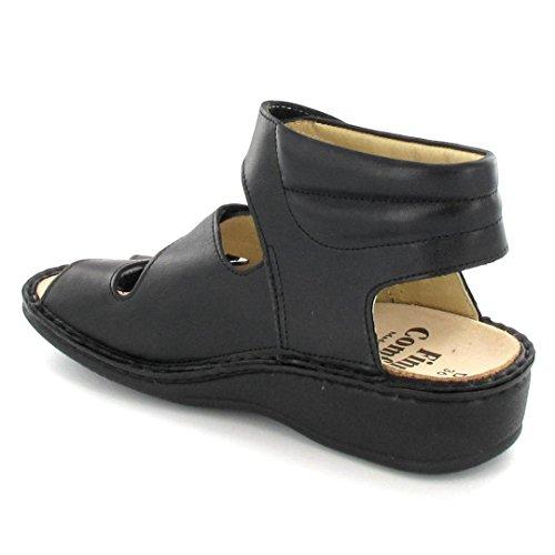 Finn Comfort sandalo Capri nero, nero, 42