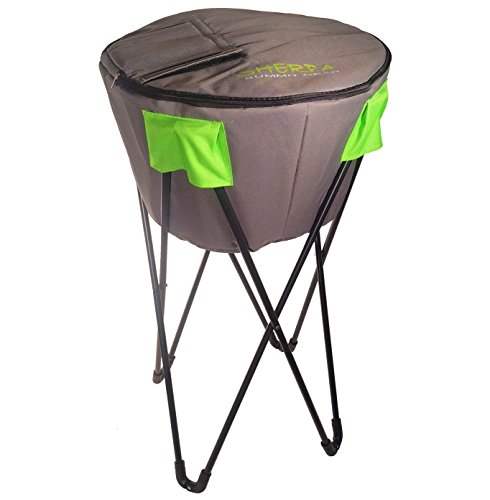 Sherpa Summit Gear Stand & Carry Cooler, Grey, One Size by Sherpa Summit Gear