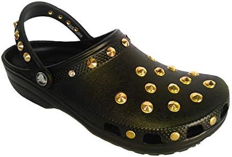 クロックス ネオパンク カスタム クラシック 黒 ブラック crocs custom classic clog クロッグ サンダル