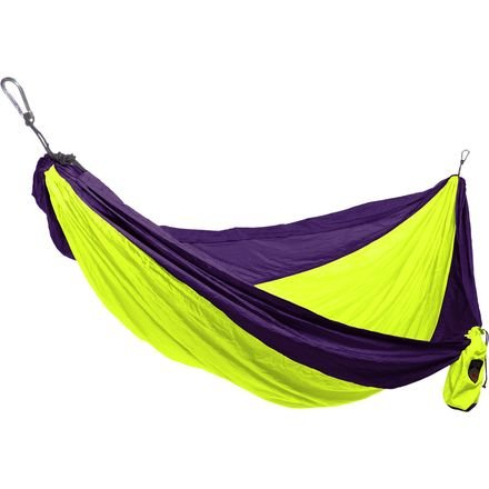 Grand Trunk Double Parachute Nylon Hammock with FREE Hanging Kit