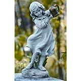 22 Inch Girl w/ Watering Can Garden Figurine by Joseph's Studio 47069
