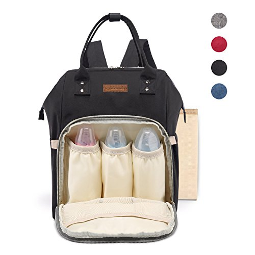 SANTSUN Diaper Bag Waterproof Nappy Bag Multi-functional Lar