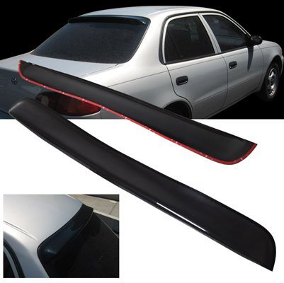 1998-2002 Toyota Corolla ABS Rear Roof Window Visor Spoiler - Toyota Corolla Rear Spoiler