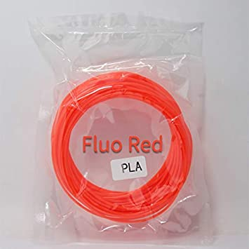 Amazon.com: W-Shufang,3D 10M PLA 1.75mm Filament Printing ...