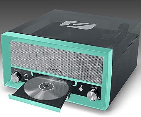 MUSE MT-110 GR - Tocadiscos: Amazon.es: Electrónica