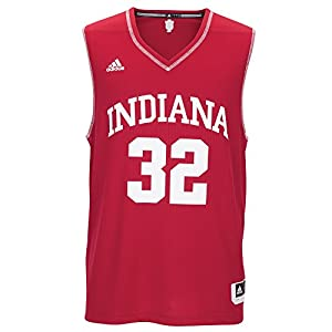 NCAA Indiana Hoosiers Men's Basketball Replica Jersey, Large, Red