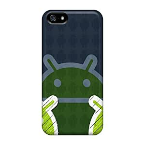 Iphone Case - Tpu Case Protective For Iphone 5/5s- Triple Android