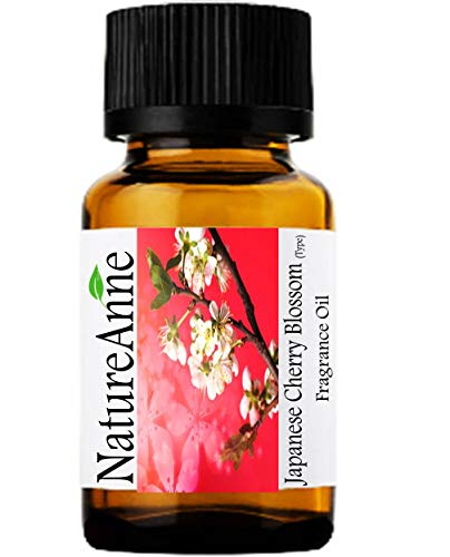 Japanese Cherry Blossom (Type) Premium Grade Fragrance Oil - 10ml - Scented Oil - for Diffuser Oils, Making Soap, Candles, Lotion, Home Scents, Linen Spray, Lotion, Perfume, Beard Oil,