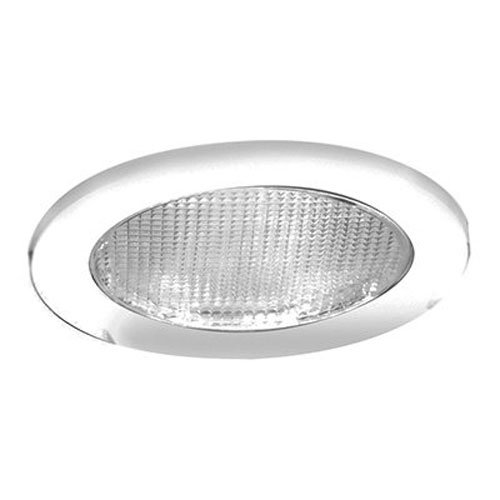 Halo 951PS Shower Light, White White Glass Recessed Housing Trim