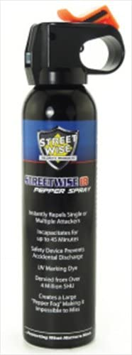 Streetwise Security Products 9 oz Fire Master Lab Certified Streetwise 18 Pepper Spray