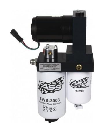 amazon com: fass fuel air separation system titanium-series 95gph 06-10  chevy & gmc duramax 6 6l diesel - t c10 095g -: automotive