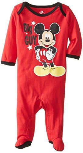 Disney Baby Niños Recién Nacido Mickey Mouse Sleep N Play, Rojo, 0 ...