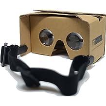 Google Cardboard V2 VR Headset Goggles (Cardboard Brown)