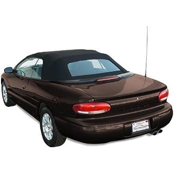 Pinpoint Vinyl Sierra Auto Tops Chrysler 1987-1995 Lebaron Convertible Top Black