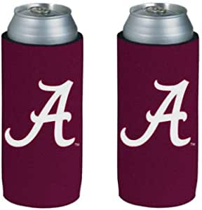 1-Pack, WinCraft Boise State Broncos Slim Can Cooler Foldable, 2-Sided Design