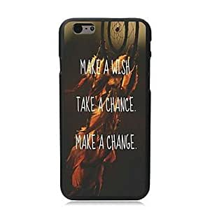 QHY Wish Chance and Change Design Hard Case for iPhone 6 Plus