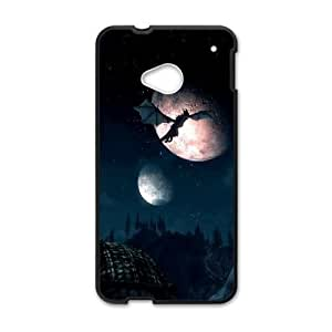 HTC One M7 Phone Case Black Skyrim1 SEW5336810