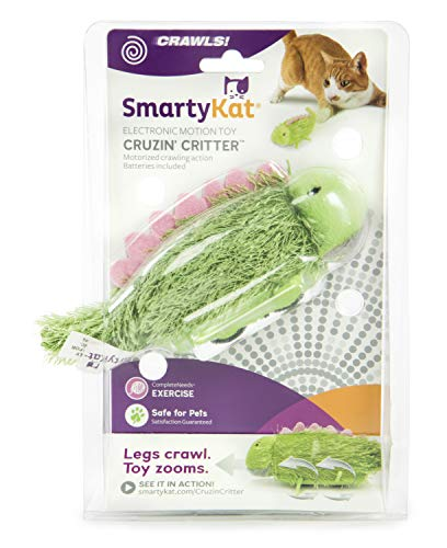 - SmartyKat Cruzin' Critter Electronic Motion Toy