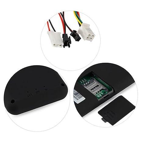 timeracing mando a distancia de coche vehículo GPS SMS GPRS localizador seguimiento dispositivo de alarma: Amazon.es: Electrónica